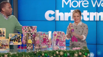 Walmart TV Spot, 'Barbie Bubbles' Featuring Melissa Joan Hart - 152 commercial airings