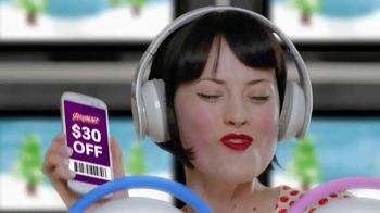 Retailmenot.com TV Spot, 'Would Free Stuff Rock Your Holidays?'