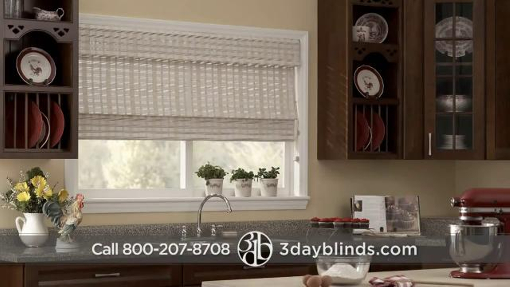 3 Day Blinds Tv Commercial Custom Blinds Shades