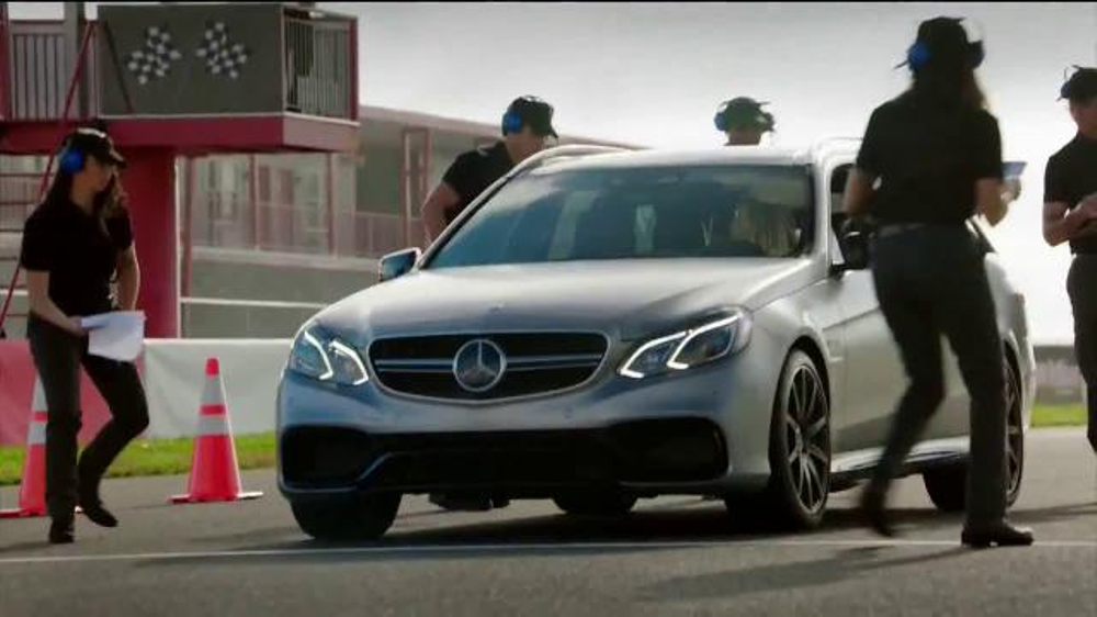 2015 mercedes benz e63 amg s 4matic wagon tv commercial for Mercedes benz winter event commercial