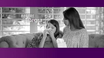 Allegra TV Spot, 'Amy's Allergies' - Thumbnail 2