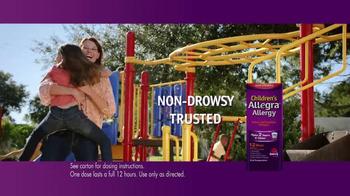 Allegra TV Spot, 'Amy's Allergies' - Thumbnail 6