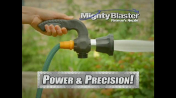 Mighty Blaster Fireman's Nozzle TV Spot, 'Power and Precision'