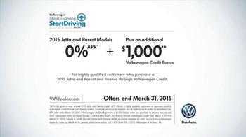2015 Volkswagen Jetta TV Spot, 'StopDreaming, StartDriving Event: Pinch Me' - Thumbnail 9