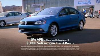 2015 Volkswagen Jetta TV Spot, 'StopDreaming, StartDriving Event: Pinch Me' - Thumbnail 6