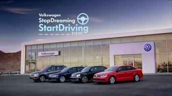 2015 Volkswagen Jetta TV Spot, 'StopDreaming, StartDriving Event: Pinch Me' - Thumbnail 8