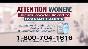 Goldwater Law Firm TV Spot, 'Talcum Powder'