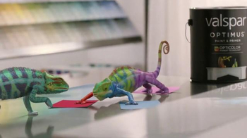 ACE Hardware TV Spot, 'Valspar: Meet the Chameleons'
