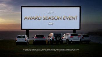 2015 Jeep Cherokee Latitude TV Spot, '2015 Award Season Event' - Thumbnail 8