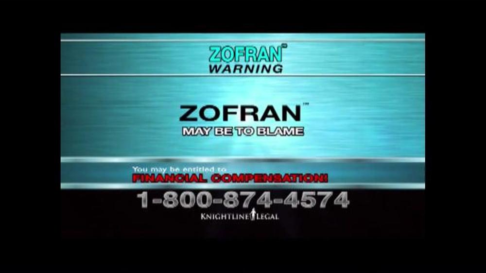 Pulaski Law Firm >> Knightline Legal TV Commercial, 'Zofran Warning' - iSpot.tv