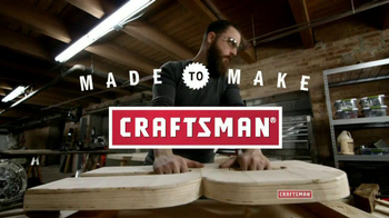 Craftsman TV Spot, \'Made to Make\'