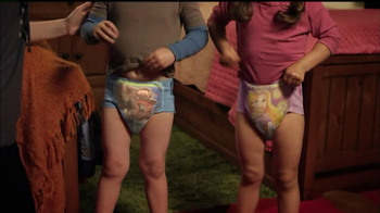 Huggies Glow-In-The-Dark Pull-Ups TV Spot, 'Bedtime' - Thumbnail 3