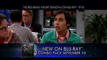 Big Bang Theory Season 6 Blu-ray Combo Pack TV Spot - Thumbnail 2