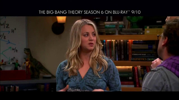 Big Bang Theory Season 6 Blu-ray Combo Pack TV Spot - Thumbnail 6
