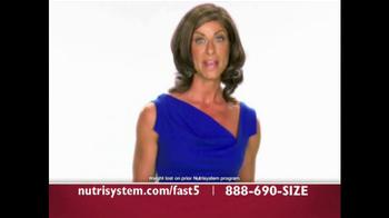 Nutrisystem Fast 5 TV Spot - Thumbnail 2