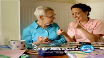 Comfort Keepers TV Spot, 'Use a Hand' - Thumbnail 9