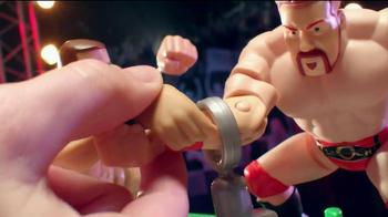 WWE Power Slammers Wrecking Brawl Playset TV Spot - Thumbnail 4