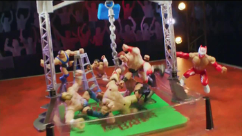 WWE Power Slammers Wrecking Brawl Playset TV Spot