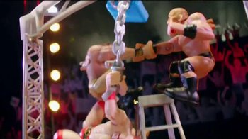 WWE Power Slammers Wrecking Brawl Playset TV Spot - Thumbnail 9