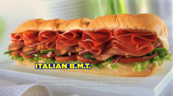 Subway SUBtember TV Spot, 'Celebrate' - Thumbnail 10