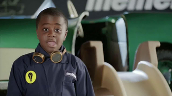 Meineke Oil Change TV Spot, 'Waterslide' Featuring Robby Novak