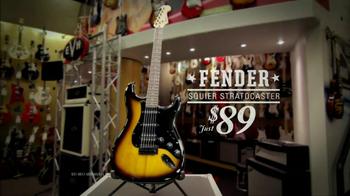 Guitar Center Labor Day Sale TV Spot, 'Fender'