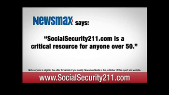 SocialSecurity211.com TV Spot, \'Seniors and Baby Boomers\'