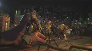 Teenage Mutant Ninja Turtles Super-Sized Battle Shell Turtles TV Spot - Thumbnail 2