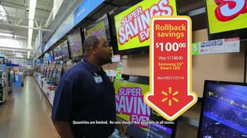 Walmart Super Savings Event TV Spot - Thumbnail 5