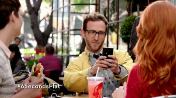 Wendy's Flatbread Grilled Chicken TV Spot, 'Have to Tweet it' - Thumbnail 6