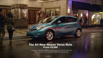 Nissan Versa Note TV Spot, 'What You Love' - Thumbnail 8