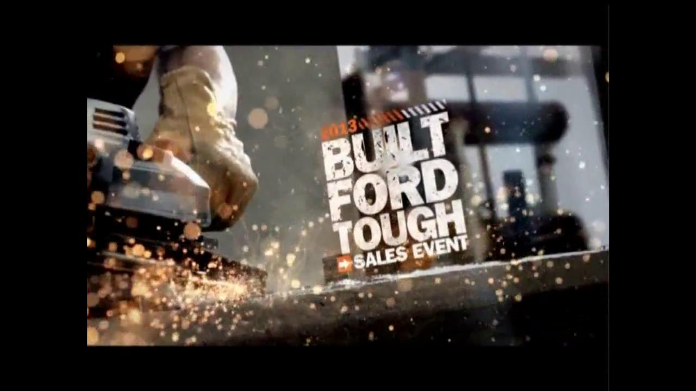 Ford Commercial Song >> Ford Built Ford Tough Sales Event TV Commercial, 'Quiz ...