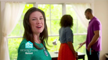 Bassett Labor Day Sale TV Spot, 'HGTV'