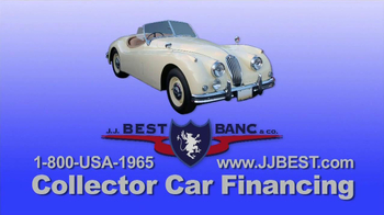 J.J. Best Bank & Co. TV Spot, 'Collector Car Financing'
