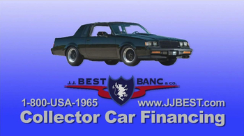 J J Best Bank Amp Co Tv Commercial Collector Car