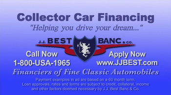 J.J. Best Bank & Co. TV Spot, 'Collector Car Financing' - Thumbnail 7