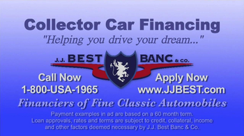 J.J. Best Bank & Co. TV Spot, 'Collector Car Financing' - Thumbnail 8