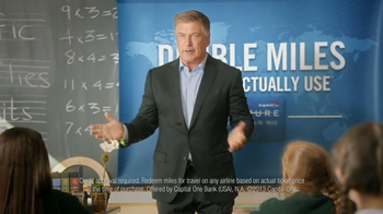 Capital One Venture TV Spot, 'Teacher' Featuring Alec Baldwin - Thumbnail 5