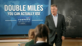 Capital One Venture TV Spot, 'Teacher' Featuring Alec Baldwin - Thumbnail 7