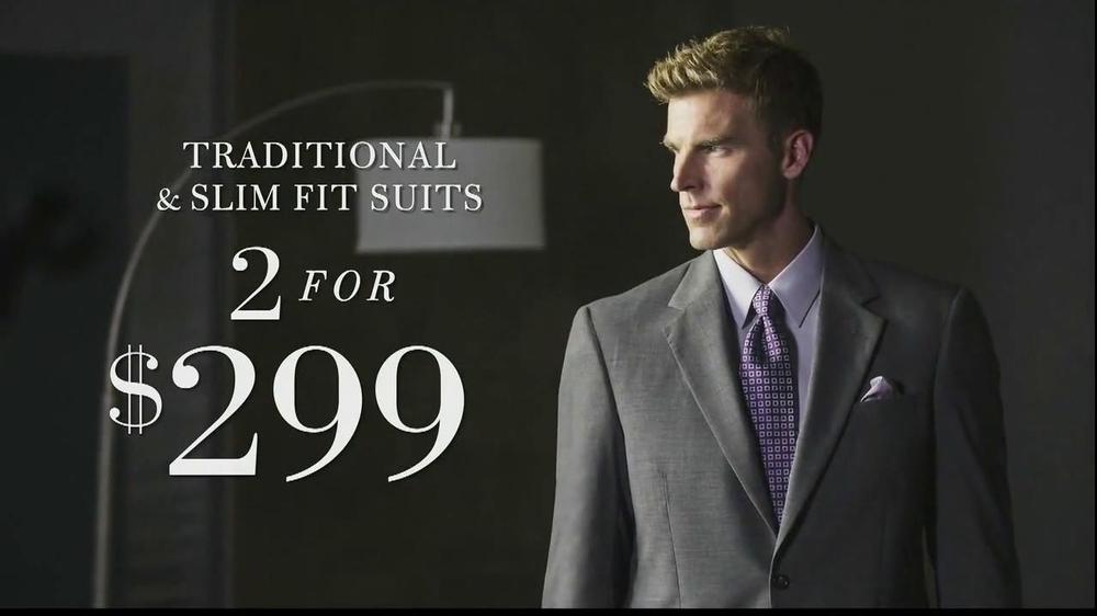 jos a bank tv commercial 39 suits 39. Black Bedroom Furniture Sets. Home Design Ideas