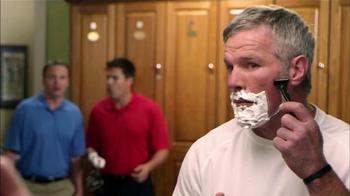 MicroTouch Tough Blade TV Spot, 'Hinchas' con Brett Favre [Spanish]