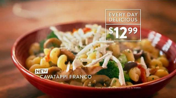 Carrabba's Grill Cavatappi Franco TV Spot, 'Full of Flavor'