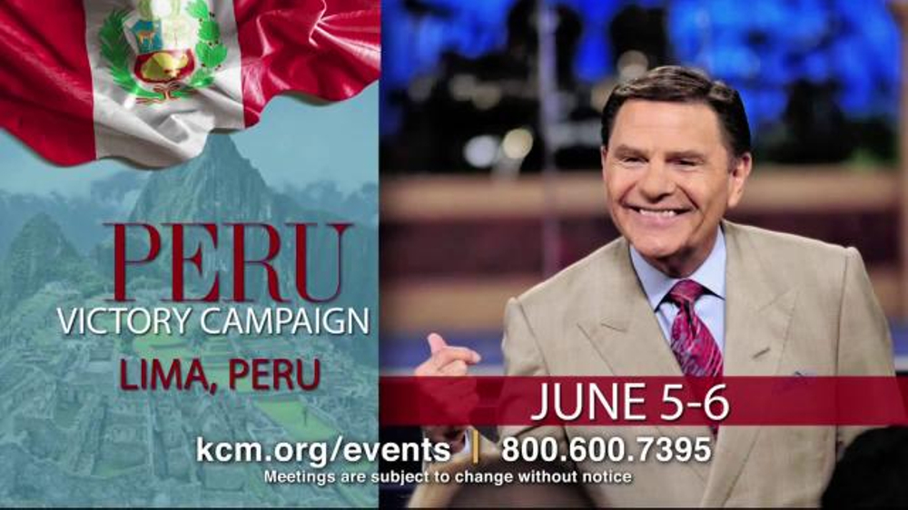 Kenneth copeland ministries tv commercial 2015 victory campaign