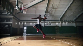 Beats PowerBeats2 Wireless TV Spot, 'Hear What You Want' Feat. LeBron James - 2 commercial airings