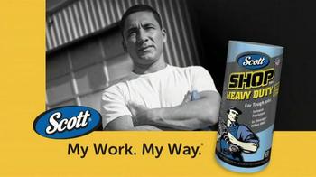 Scott Shop Towels Heavy Duty Brand TV Spot, 'Tough Jobs'