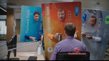 CreditCards.com TV Spot, 'Three Credit Cards'