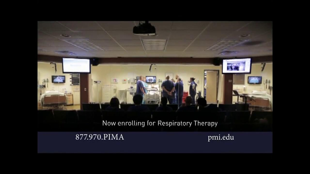 pima medical institute respiratory therapy classes tv spot. Black Bedroom Furniture Sets. Home Design Ideas