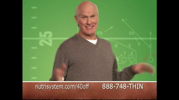 Nutrisystem TV Spot Featuring Terry Bradshaw