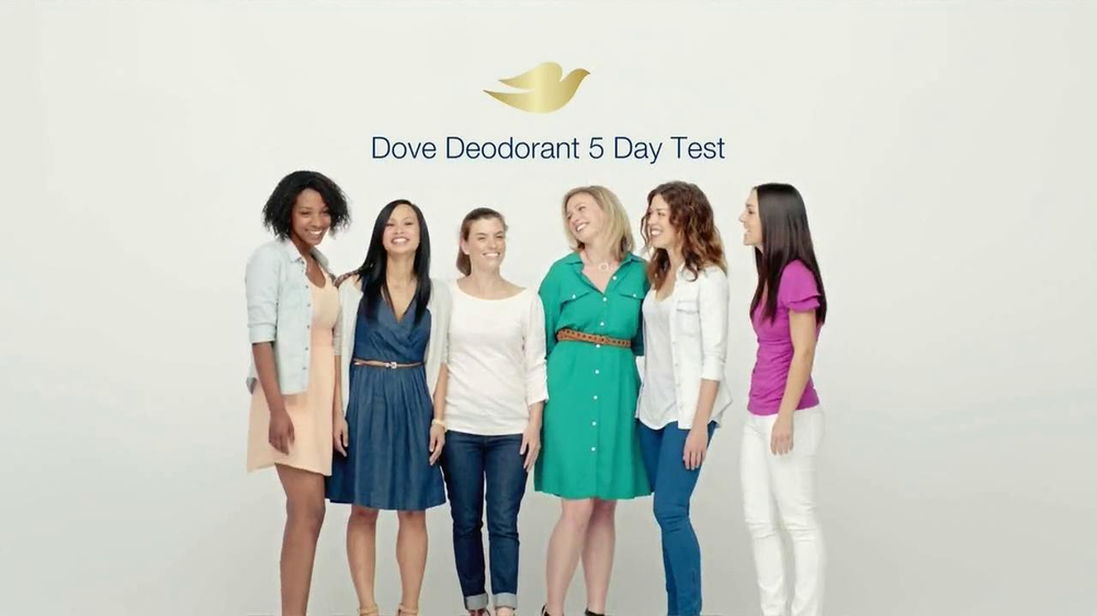 Dove Sleeveless Deodorant TV Commercial