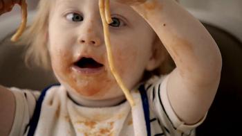 Bounty DuraTowel TV Spot, 'Spaghetti Cleanup'